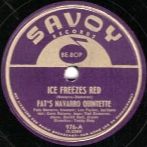 Ice Freezes Red